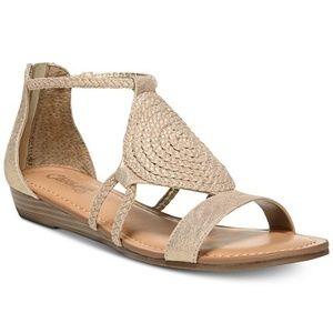 Carlos Santana Shoes - Carlos Santana Taffey T Strap Sandals NEW